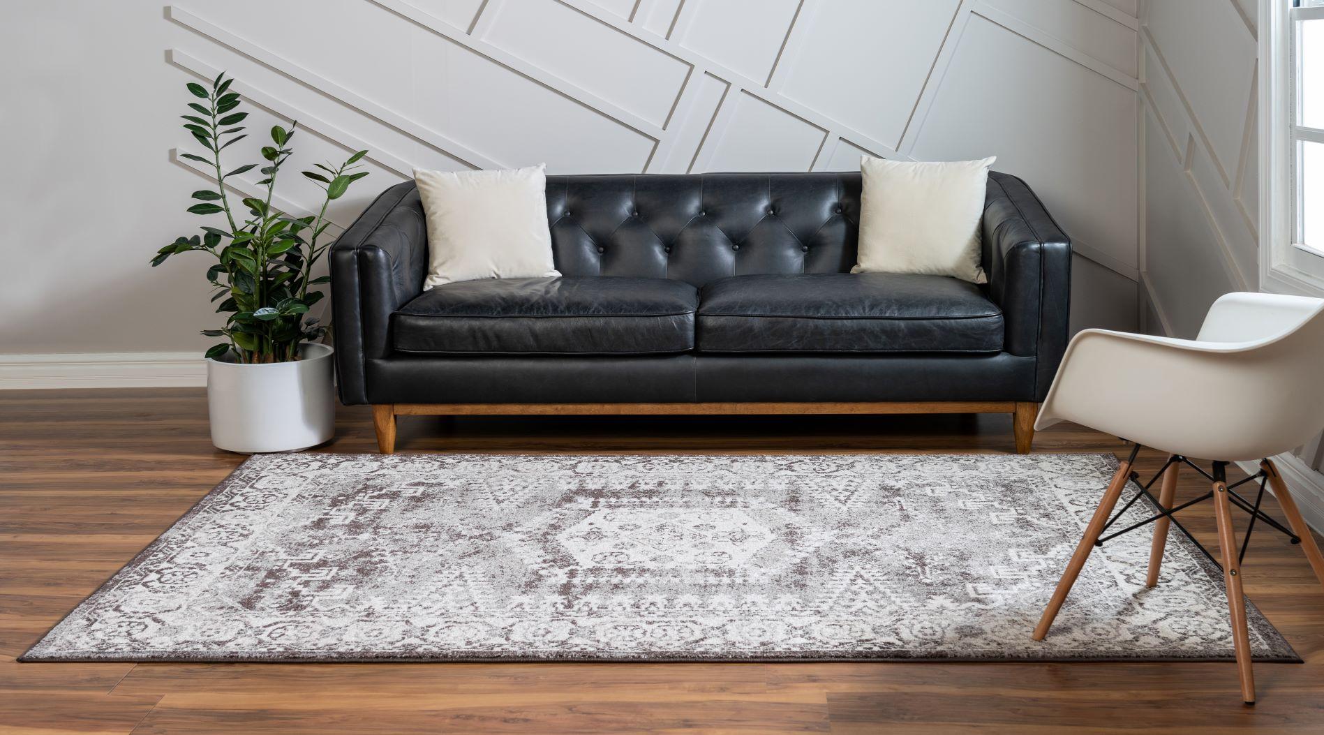 Eden rug in a living room