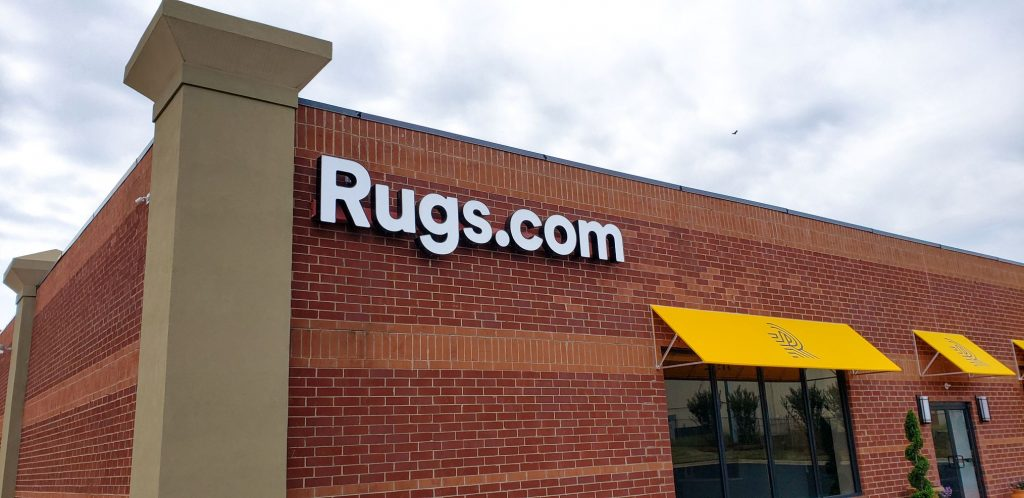 Rugs.com showroom exterior