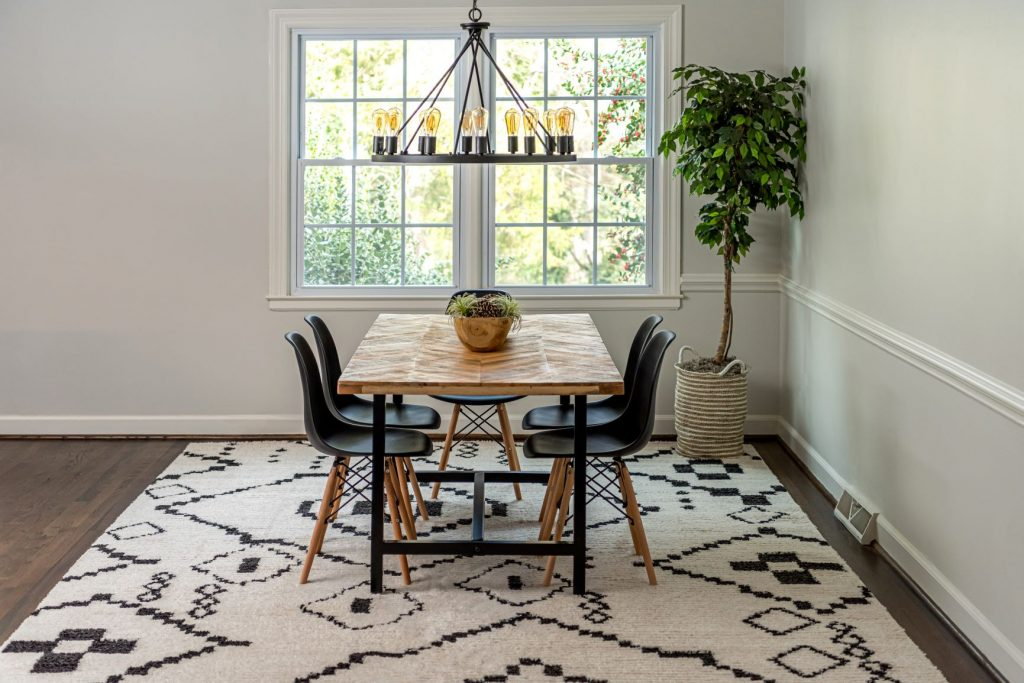 Simple Rules For Dining Room Rugs, Dining Room Rug Size