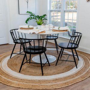 Dining Room Round Rug