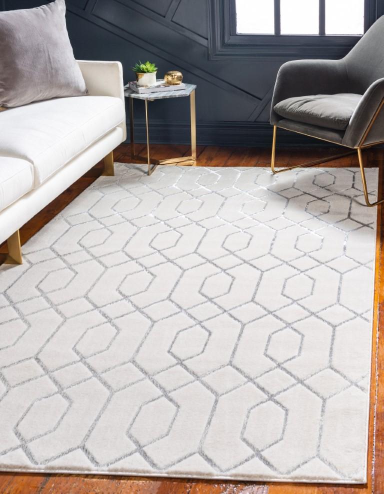 Glamorous holiday rug
