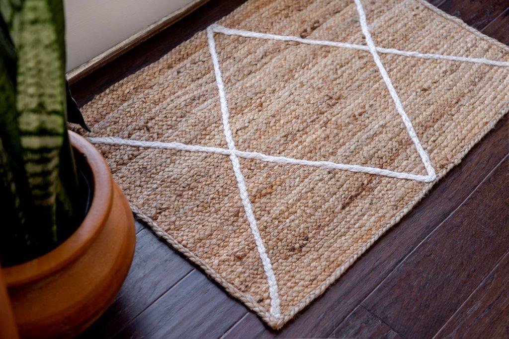 jute entryway rug